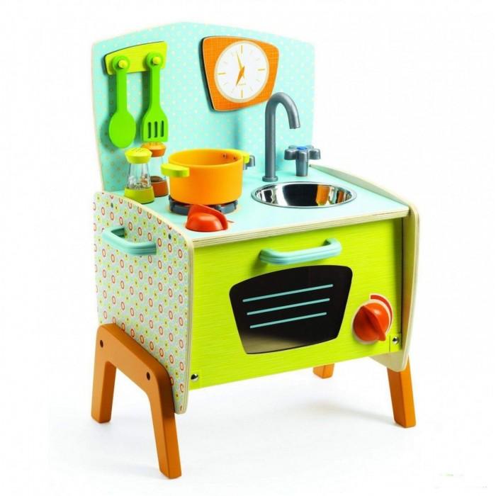Кукольные домики и мебель Djeco Мини-кухня Габи настольные игры djeco игра лото дом