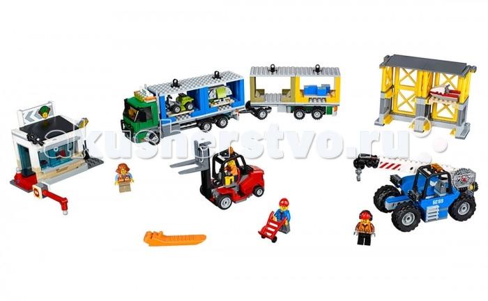 Lego Lego City 60169 Лего Город Грузовой терминал lego city 60107 лего город пожарный автомобиль с лестницей