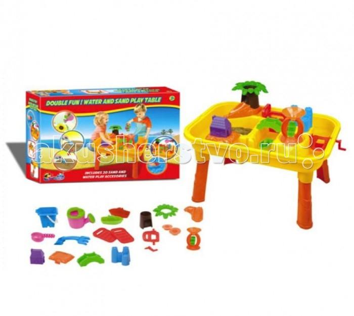 Летние товары , Песочницы Toy Target Набор для игры с песком и водой 18 предметов арт: 394519 -  Песочницы