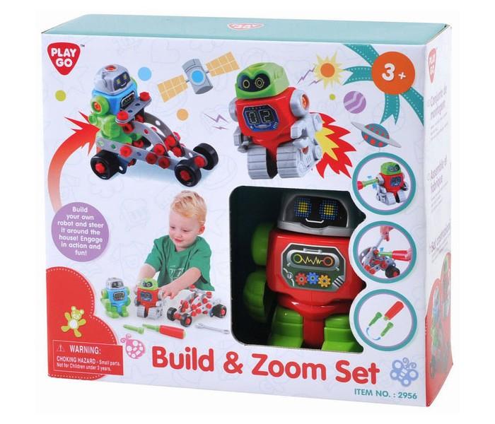 Конструкторы Playgo Собери робота набор для ванной playgo утята 2430