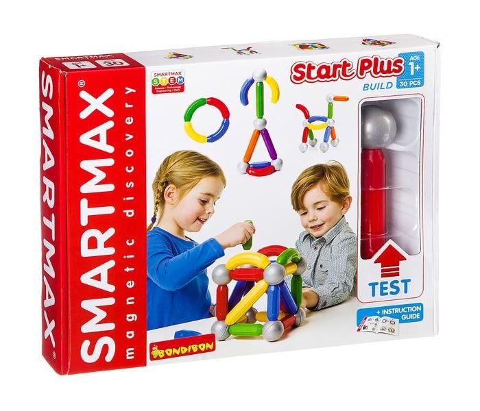 Конструктор Bondibon Магнитный SmartMax Basic (30 деталей)Магнитный SmartMax Basic (30 деталей)Bondibon Магнитный конструктор SmartMax Basic (30 деталей) растет вместе с вашим ребёнком!   Со сверхбольшими деталями этого набора маленькие дети безопасным образом откроют для себя волшебство магнетизма. Подрастая, дети учатся строить более крупные и креативнные конструкции. Все детали этого набора могут комбинироваться с деталями из других наборов этой серии.  Этот набор, содержащий короткие палочки, длинные палочки и металлические шары, является отличным стартовым набором.<br>