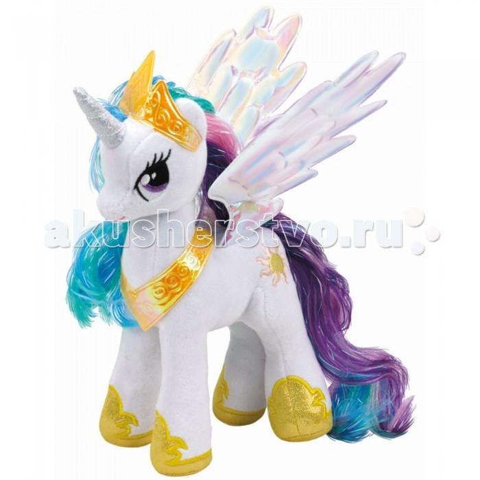 Мягкие игрушки Май Литл Пони (My Little Pony) Принцесса Селестия 20 см мульти пульти мягкая игрушка принцесса луна 18 см со звуком my little pony мульти пульти