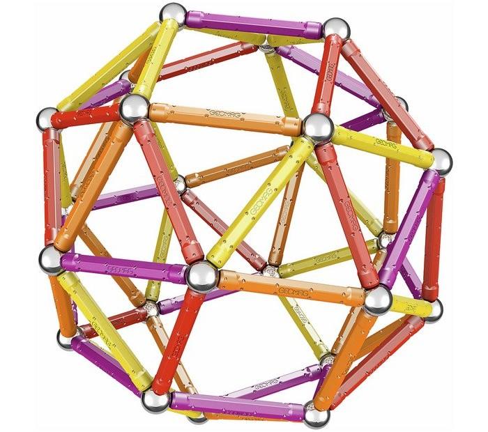 Купить Конструкторы, Конструктор Geomag магнитный Color 127 деталей