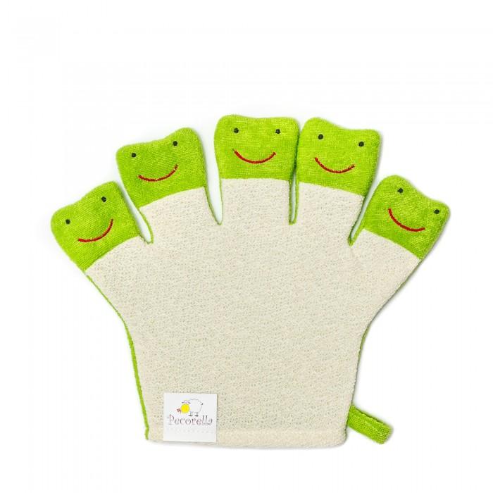 Мочалки Pecorella Детская мочалка мочалка рукавица детская riffi 402 цвет в ассормитенте
