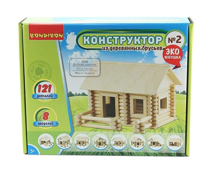 Конструкторы Bondibon из деревянных брусьев №2 Bох