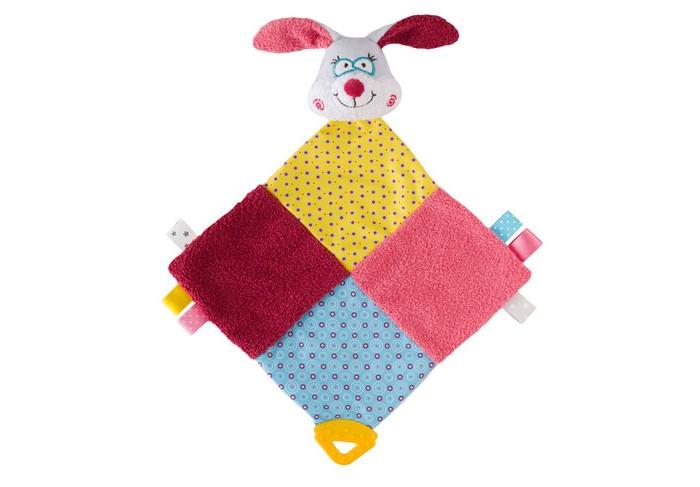 Комфортеры BabyOno Игрушка с прорезывателем Кролик Sue бел цв 001