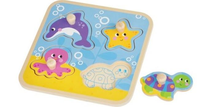 Деревянные игрушки Mapacha Вкладыши Море