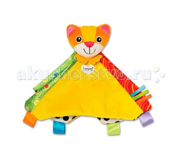 Развивающие игрушки Lamaze Погремушка-платочек Котенок Митти