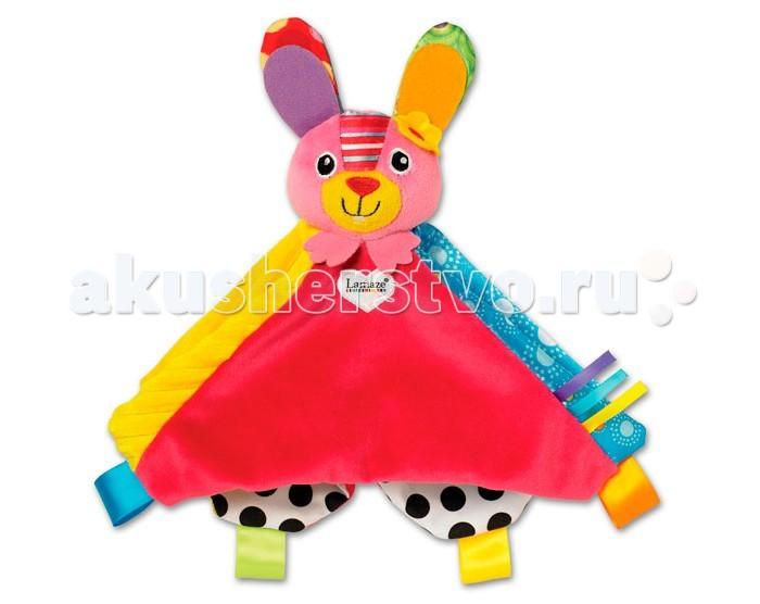 Развивающие игрушки Lamaze Погремушка-платочек Зайка Белла