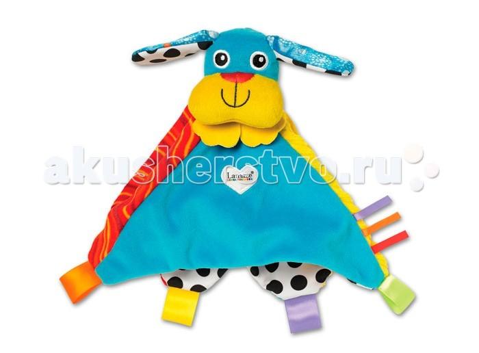 Развивающие игрушки Lamaze Погремушка-платочек Собачка Пиппи игрушка tomy lamaze собачка пиппи то27625