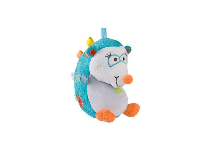 Мягкие игрушки BabyOno Ежик Сharlie babyono мягкая игрушка с погремушкой ежик сharlie