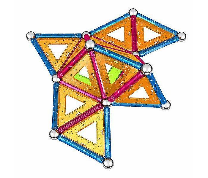 Купить Конструкторы, Конструктор Geomag магнитный Glitter 68 деталей