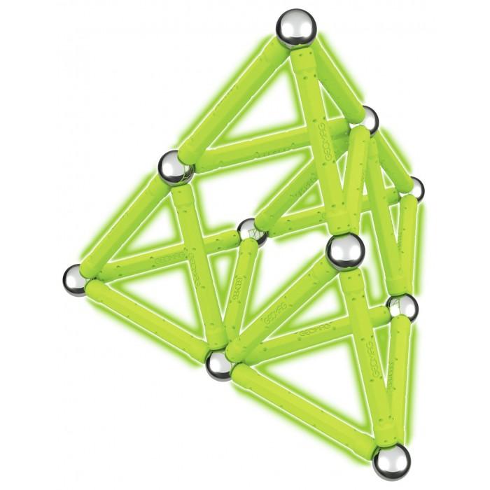 Купить Конструкторы, Конструктор Geomag магнитный Glow 40 деталей