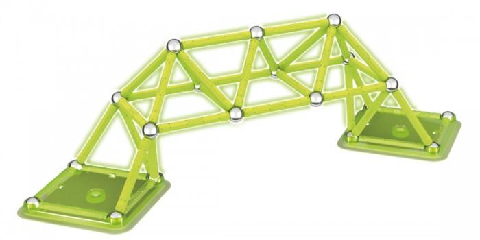 Купить Конструкторы, Конструктор Geomag магнитный Glow 64 детали