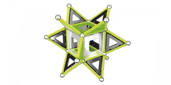 Конструкторы Geomag магнитный Glow 104 детали starfit велотренажер bk 104 mercury магнитный