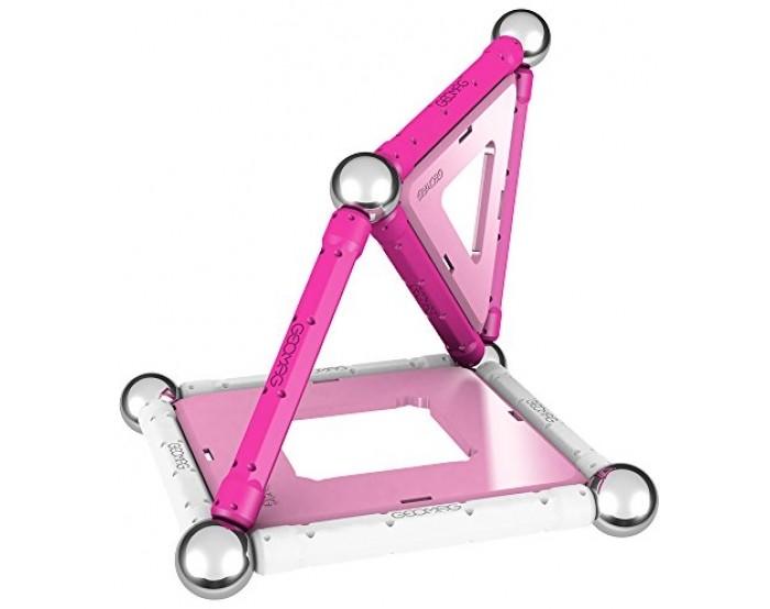 Конструкторы Geomag магнитный Pink 22 детали конструкторы fanclastic конструктор fanclastic набор роботоводство