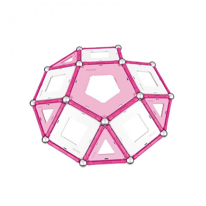 Купить Конструкторы, Конструктор Geomag магнитный Pink 68 деталей