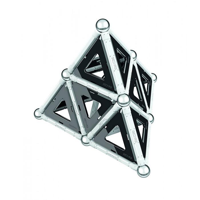 Купить Конструкторы, Конструктор Geomag магнитный Black & White 68 деталей