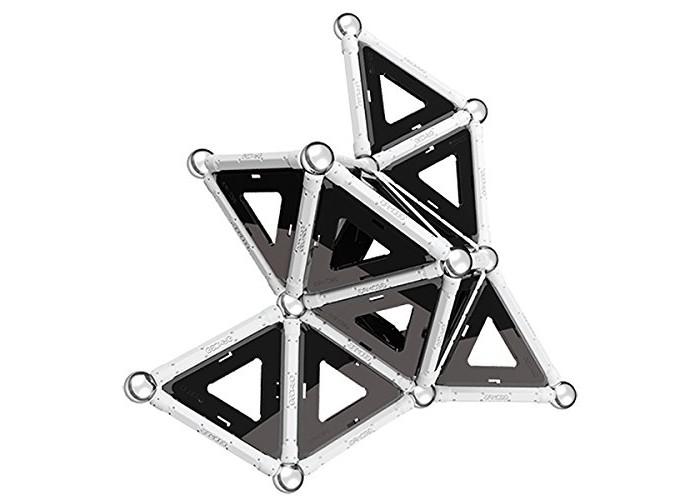 Купить Конструкторы, Конструктор Geomag магнитный Black & White 104 детали