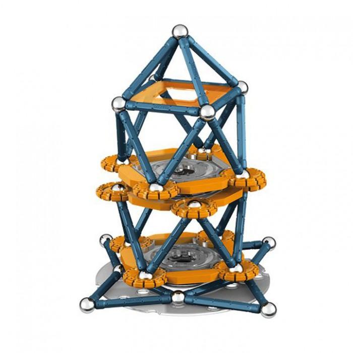 Конструктор Geomag магнитный Mechanics 146 деталеймагнитный Mechanics 146 деталейКонструктор Geomag магнитный Mechanics 146 деталей, состоит из шариков и палочек.    Благодаря декоративным элементам на панелях, блоки предлагают еще больше творческих возможностей.   С помощью различных конструкций вы можете создавать разные структуры из научно-фантастических фильмов - только ваше воображение ограничивает вас. Конструктор развивает воображение и пространственное мышление.  Рекомендуемый возраст от 5 лет и старше.<br>