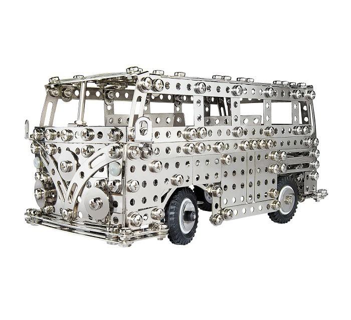 Конструктор Eitech Конструктор Автобус 720 деталейКонструктор Автобус 720 деталейEitech Конструктор Автобус 720 деталей для сборки автобуса.  Этот конструктор прекрасно подходит для развития мышления, логики, моторики и аккуратности в сочетании с усидчивостью.   Благодаря большому количеству деталей и инструкции, собирать модели интересно и познавательно, а тот факт, что результатом станет самая настоящая игрушка - не сможет не порадовать юного инженера.   Содержит мелкие детали, поэтому рекомендуемый возраст - от 8 лет.  Подобное занятие сможет не только надолго заинтересовать малыша, но, быть может, стать началом сбора целой коллекции различных красивых и необычных металлических фигурок!<br>