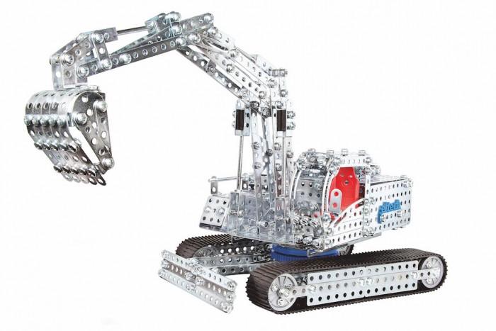Конструктор Eitech Конструктор Экскаватор и Бульдозер 1470 деталейКонструктор Экскаватор и Бульдозер 1470 деталейEitech Конструктор Экскаватор и Бульдозер 1470 деталей для юного строителя.  Он состоит из, по меньшей мере, 1470 металлических деталей и имеет множество механических функций. Из конструктора можно собрать не менее 2-х моделей строительной техники. В этом поможет инструмент для сборки, который входит в комплект и подробная инструкция по сборке. Конструктор развивает мелкую моторику рук, креативное, инновационное мышление и способствует когнитивному развитию ребёнка.  В набор входят: 1470 деталей конструктора. Комплекта инструментов. Подробная, иллюстрированная инструкция.  Благодаря большому количеству деталей и инструкции, собирать модели интересно и познавательно, а тот факт, что результатом станет самая настоящая игрушка - не сможет не порадовать юного инженера.   Содержит мелкие детали, поэтому рекомендуемый возраст - от 8 лет.  Подобное занятие сможет не только надолго заинтересовать малыша, но, быть может, стать началом сбора целой коллекции различных красивых и необычных металлических фигурок!<br>
