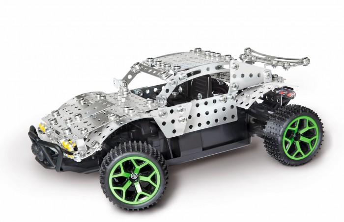 Конструктор Eitech Конструктор Вездеход 270 деталейКонструктор Вездеход 270 деталейEitech Конструктор Вездеход 270 деталей .  Проверь свои силы на ралли в пустыне с этим полноприводным гоночным Багги на пульте дистанционного управления от компании Eitech. Конструктор состоит из 270 металлических деталей и имеет множество механических функций. Из конструктора можно собрать не менее 2-х моделей полноприводного автомобиля масштабом 1/18. В этом поможет инструмент для сборки, который входит в комплект и подробная, пошаговая инструкция. Конструктор развивает мелкую моторику рук, креативное, инновационное мышление и способствует когнитивному развитию ребёнка.  В набор входят: 4х4 полный привод и 270 деталей конструктора.. Комплекта инструментов. Подробная, иллюстрированная инструкция. 2.4 GHz пульт управления с эл. питания.  Благодаря большому количеству деталей и инструкции, собирать модели интересно и познавательно, а тот факт, что результатом станет самая настоящая игрушка - не сможет не порадовать юного инженера.   Содержит мелкие детали, поэтому рекомендуемый возраст - от 8 лет.  Подобное занятие сможет не только надолго заинтересовать малыша, но, быть может, стать началом сбора целой коллекции различных красивых и необычных металлических фигурок!<br>