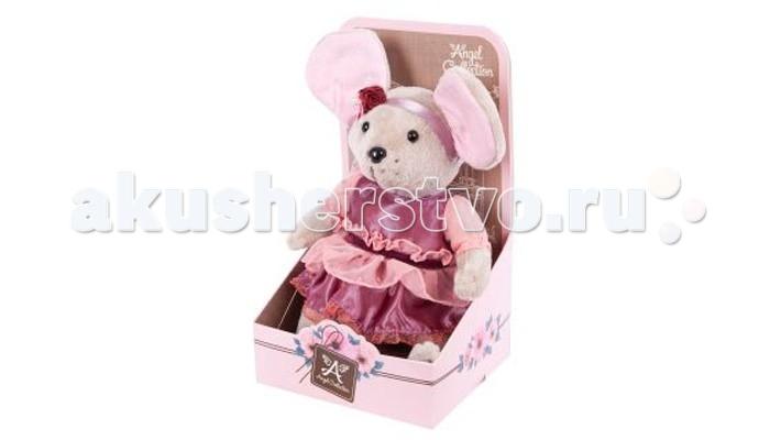 Мягкие игрушки Angel Collection Lady mouse Вишенка в малиновом платье (шарнирная) женское платье lady v zip s1066