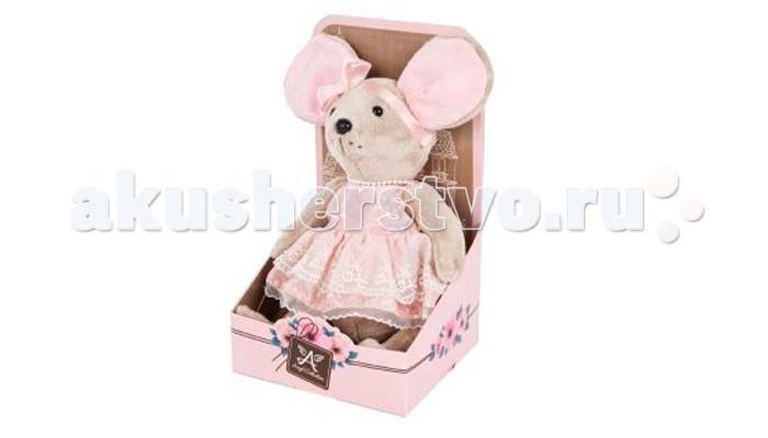 Мягкие игрушки Angel Collection Lady mouse Зефирка в розовом платье (шарнирная) женское платье lady v zip s1066