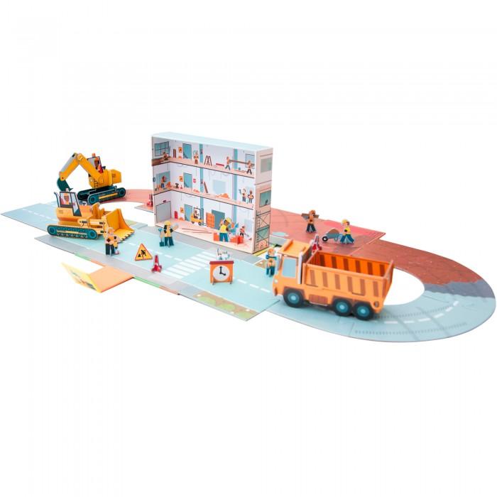 Сборные модели Мозаика kids Маленький инженер. Стройка маленький инженер пожарная часть интерактивный конструктор книга
