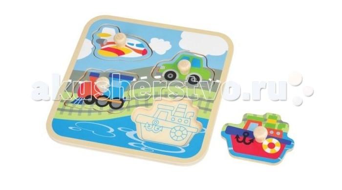 Деревянные игрушки Mapacha Вкладыши Транспорт 76671 нде проездной на транспорт в вологде
