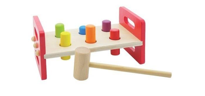 Деревянные игрушки Mapacha Игра-стучалка Молоточек