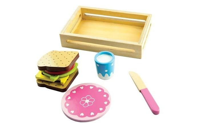 Деревянные игрушки Mapacha Игровой набор Сэндвич