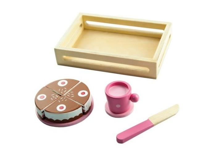 Деревянные игрушки Mapacha Игровой набор Тортик