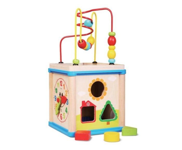 Деревянные игрушки Mapacha Игровой центр Суперкуб