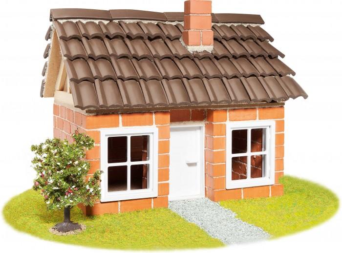 Купить Сборные модели, Teifoc Строительный набор Дом с каркасной крышей 200 деталей