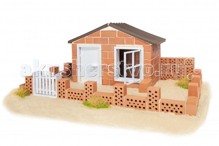 Конструкторы Teifoc Строительный набор Летний домик 130 деталей конструктор деревянный лесовичок разборный домик 7