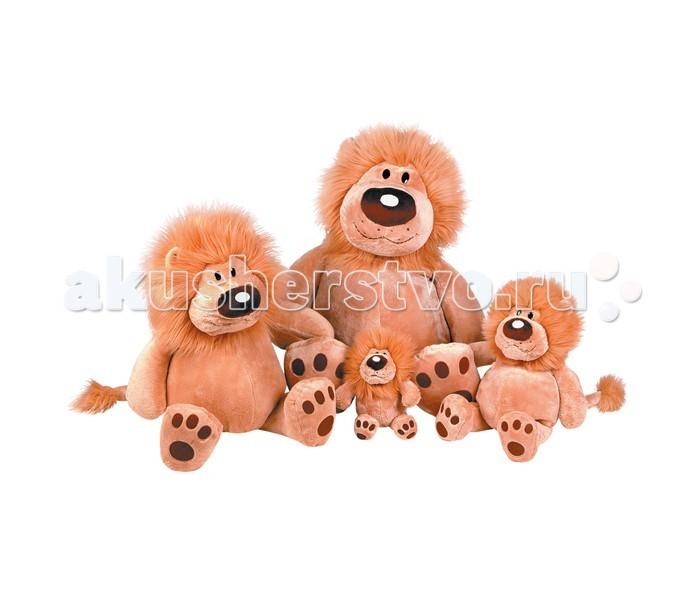 Мягкие игрушки Gulliver Лев Лёва сидячий 23 см