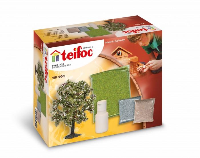 Фото - Сборные модели Teifoc Декоративное дополнение (дерево, газон, гравий) сборные модели teifoc дополнительный набор кирпичи смесь мастерок 280 деталей