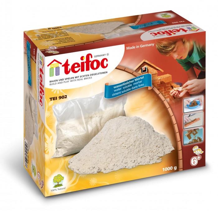 Конструкторы Teifoc Строительный раствор 1 кг раствор серебра в аптеке домодедово