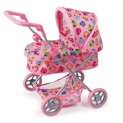 Коляски для кукол Melobo (Melogo) с корзиной под игрушки 9680 melobo melogo прогулочная 3 х колёсная 9377 вт