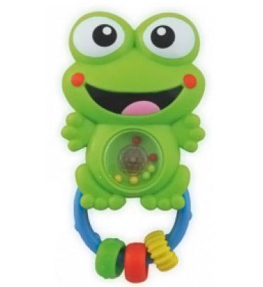 Погремушки Baby Mix музыкальная Лягушка 310547D