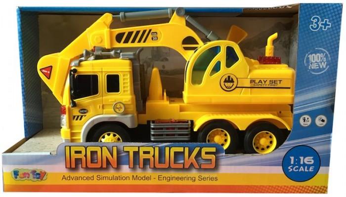 Машины Fun Toy Грузовик инерционный электромеxанический 44404/1