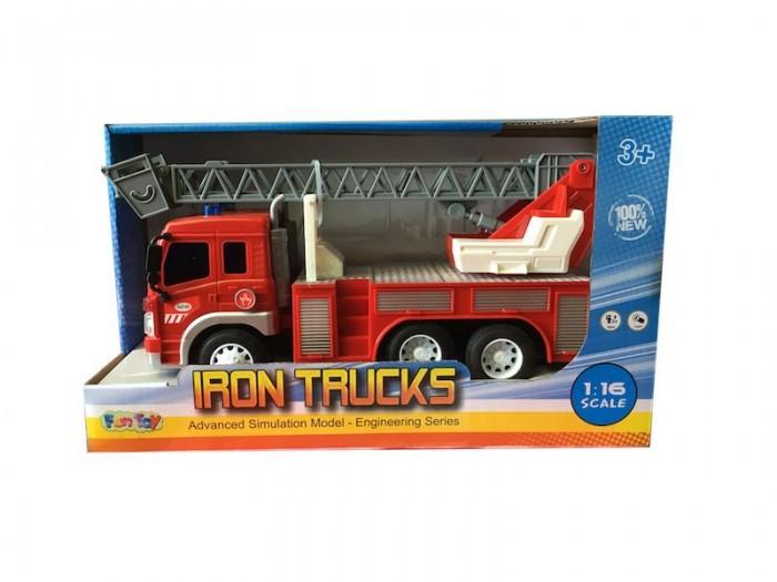 Машины Fun Toy Грузовик инерционный электромеxанический 44404/5