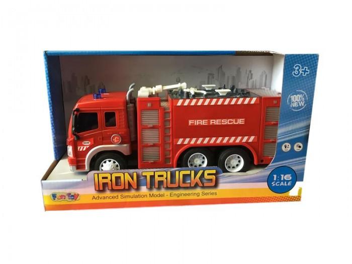 Машины Fun Toy Грузовик инерционный электромеxанический 44404/6
