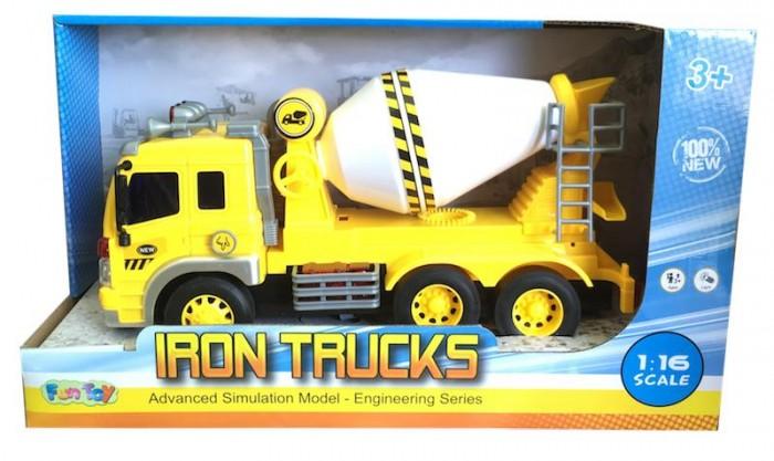 Машины Fun Toy Грузовик инерционный электромеxанический 44404/11