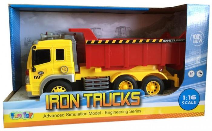 Машины Fun Toy Грузовик инерционный электромеxанический 44404/12