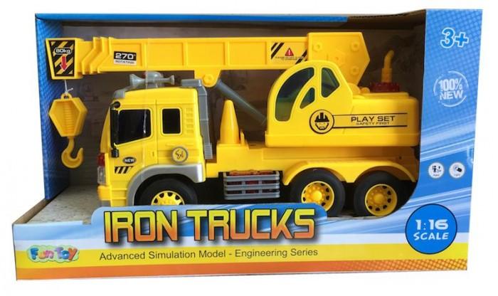 Машины Fun Toy Грузовик инерционный электромеxанический 44404/13
