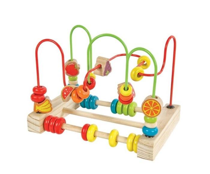 Деревянные игрушки Mapacha Лабиринт-счеты большой деревянные игрушки mapacha рамка лабиринт кошки мышки