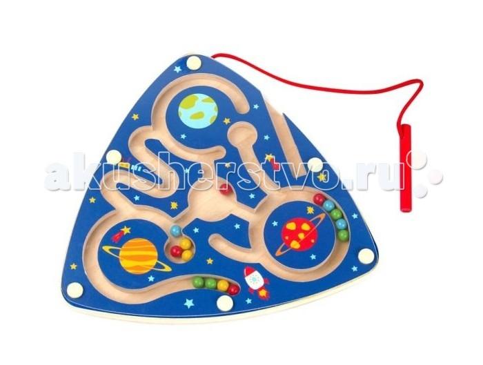 Деревянные игрушки Mapacha Магнитный лабиринт Космос 76723 недорого